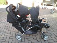 Graco Stadium Duo Pushchair and car seat