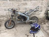 MIDI moto project not mini pocket bike scrambler race motorbike