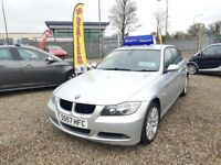 2008 BMW 3 Series 2.0 320d SE 4dr / Finance Available / Year MOT / 3 Month RAC Warranty Included