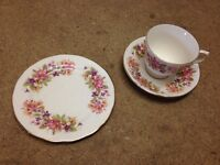 Cups saucers, side plates