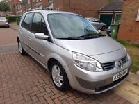 2007 (56 REG) RENAULT SCENIC AUTOMATIC WITH LOW MILEAGE