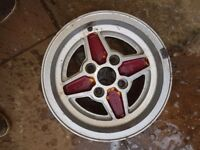 Mk1 fiesta wheels. Original