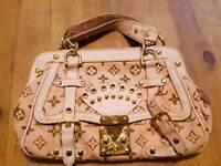 Genuine Louis Vuitton pink handbag