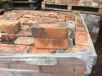 Large quantity of Reclaimed Bullnose Bricks £1.20 each
