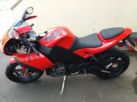 Buell 1125R sports bike, only 1600 miles, full MOT, may deliver
