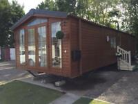 2014 Mobile Home Log Cabin 38x12 OFFSITE