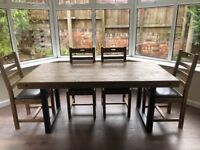 DFS Table and 4 chairs