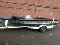 Mastercraft stars and stripes 1980 ski boat v8 280 horsepower!