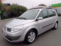 7 SEATER RENAULT GRAND SCENIC 1.6 MANUAL IN CLEAN CONDITION. 1 YEAR MOT. SERVICE HISTORY. 2 KEYS
