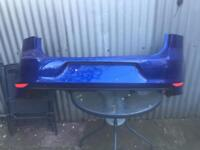 Audi S3 rear bumper complete with diffuser and sensors 2016 onwards ** breaking **
