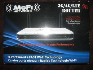 MOFI 3G / 4G / LTE High Speed WiFi Router. Share ur LTE / 4G Data with Multiple Devices on the Go. Ipad / Tablet. NEW