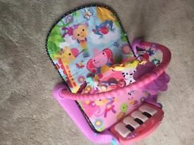 Fisher Price baby girls play mat
