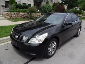 2008 Infiniti G35X AWD, LEATHER, ROOF, CERTIFIED, LOW KMS