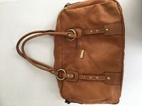 Second Hand Leather Storksak Changing bag