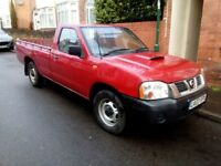 2007 NISSAN D22 2.5 DI 4X4 SINGLE CAB PICK UP TRUCK AMAZING RUNNER 3 SEATS LARGE LOADING