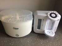 Tommee Tippee bottle prep machine and steriliser