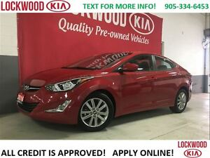 2016 Hyundai Elantra SE SPORT-SUNROOF, BACK-UP CAM, BLUETOOTH