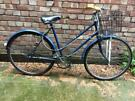 Ladies Vintage Raleigh Bike with Basket