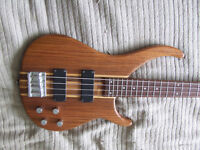 Bass guitar. Peavey Zephyr 4 string.