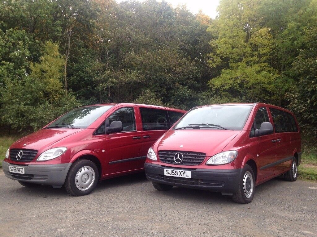 Mercedes Benz VITO 111 CDI LONG - Automatic - 9 Seats - Excellent Condition - Low Millage