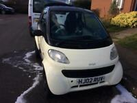 SMART CAR * £30 ROAD TAX CHEAP INSURANCE IDEAL FOR EXPORT OR REPAIR