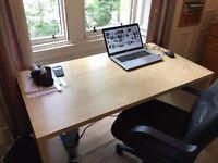Large desk 140*75cm GOOD CONDITION
