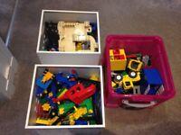 Lego Duplo lot bundle - train track cars houses figures animals!