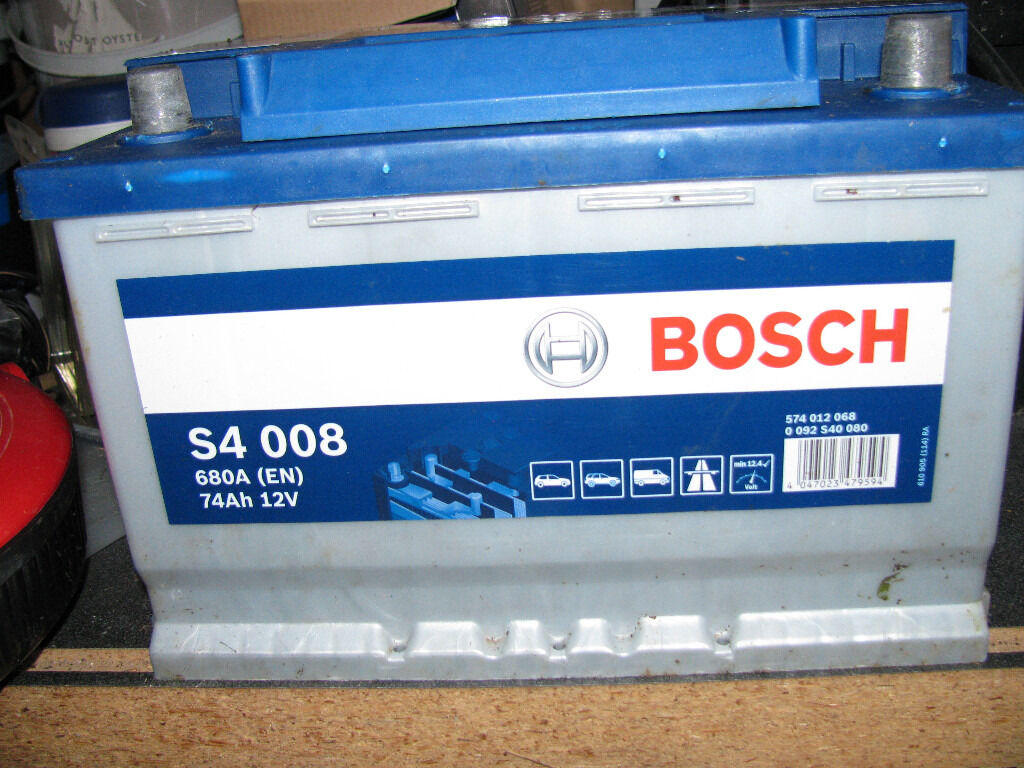 bosch car battery s4 008 in park street hertfordshire gumtree. Black Bedroom Furniture Sets. Home Design Ideas