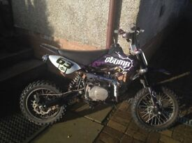 Stomp Pitbike FXJ2 110cc for sale
