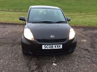 2008 DAIHATSU SIRION £30 POUND A YEAR ROAD TAX LOW INSURANCE
