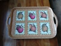 Trays and chopping boards