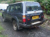 wanted toyota landcruiser amazon 4.2 turbo diesel 80 / 100 series