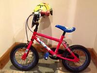 Kids Spider Man Bike & Helmet able to deliver