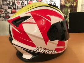 As new stunning Nitro Pursuit Nrs1 helmet. Size Xl