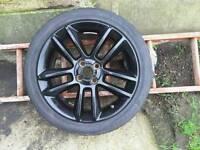 """1 x 17"""" Vauxhall alloy wheel"""