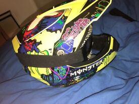 2015 Monster Motorcross Helmet
