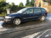 RENAULT LAGUNA EXPRESSION ESTATE 2003 03 PLATE MOT APRIL 2018