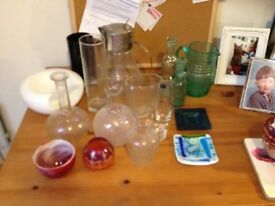 job lot glass bargain 20.00