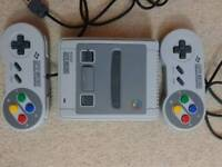 Nintendo SNES Classic Mini, Mint Condition, Used once
