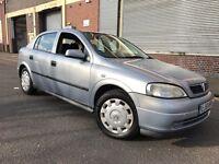 Vauxhall Astra 2002 1.6i Club 5 door AUTOMATIC, LOW MILES, AUTO BOX, BARGAIN