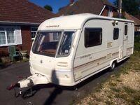 2001 Avondale 4 berth caravan with motor mover
