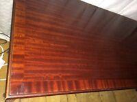 Vintage Meredew solid dark wood coffee table