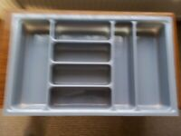 CUTLERY TRAY INSERT FOR KITCHEN DRAWER