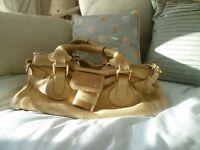 Chloe Handbag - cream with dustbag and authenticity cards