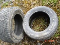 Rally Tyres 265 50 15 Radial GT Part Worn