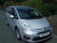 Oct 2012 Citroen C4 GRAND PICASSO ED-N E-HDI AUTO - 7 SEATER - ONLY 63k MILES - FULL SERVICE HISTORY