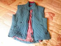 ladies Shires horse riding quilted waistcoat