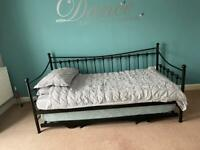 Black Metal Day / Guest Bed - Size Single