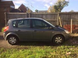 57 plate Renault scenic 1.5 dci
