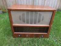 VINTAGE SOBELL VALVE RADIO - UNTESTED FOR REPAIR OR UPCYCLE